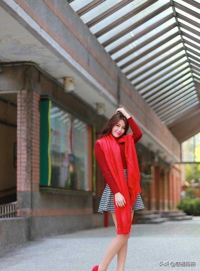 街拍紅色高跟鞋時尚,盡顯成熟女性魅力 正妹集中營 第2张