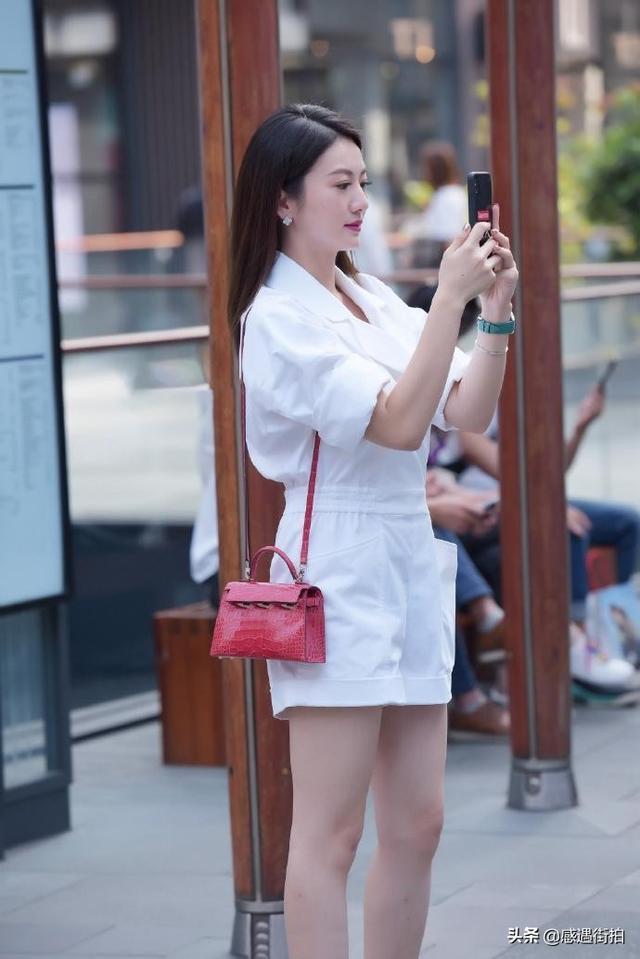 街拍:純白連衣褲,清麗又減齡,愛了嗎 正妹集中營 第2张