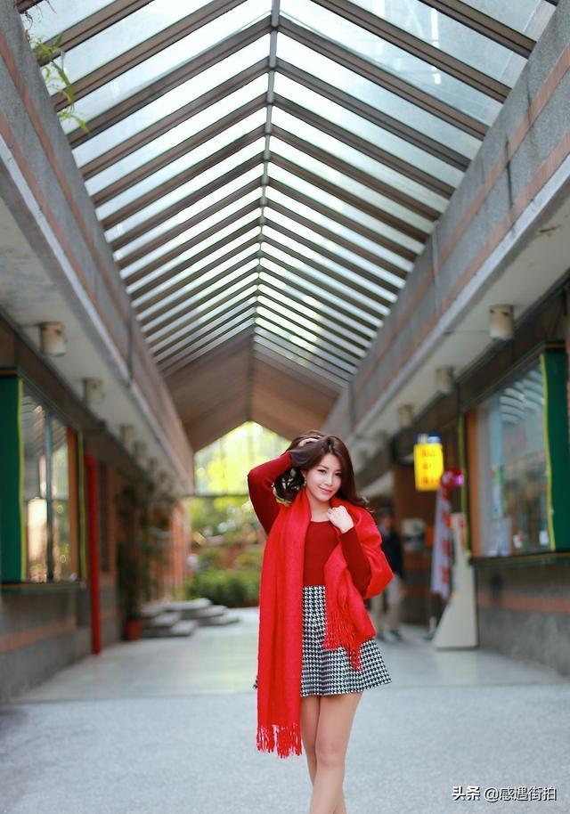 街拍紅色高跟鞋時尚,盡顯成熟女性魅力 正妹集中營 第4张