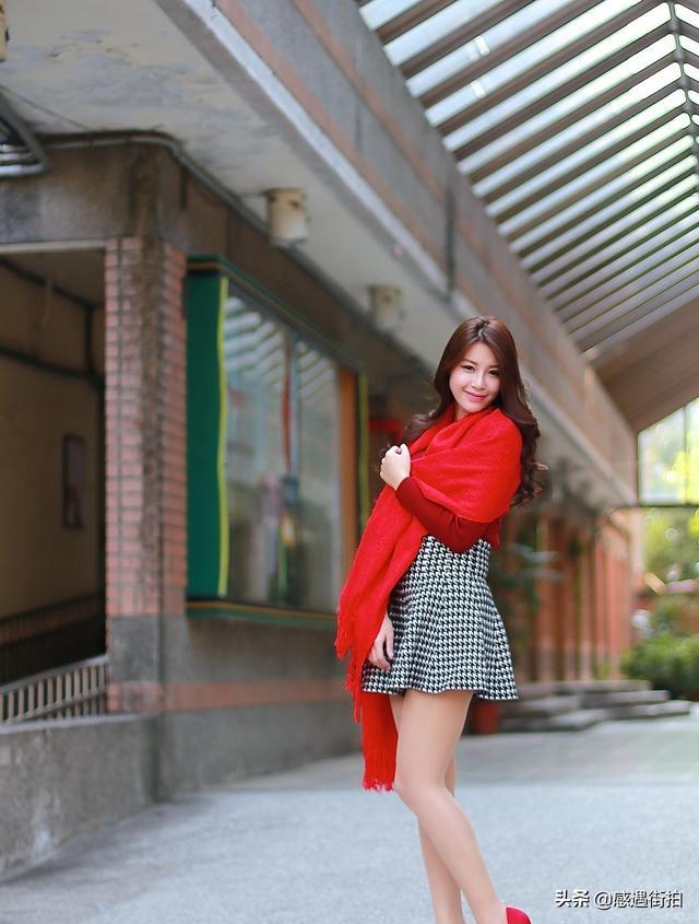 街拍紅色高跟鞋時尚,盡顯成熟女性魅力 正妹集中營 第3张